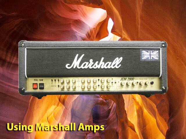using-marshall-amps