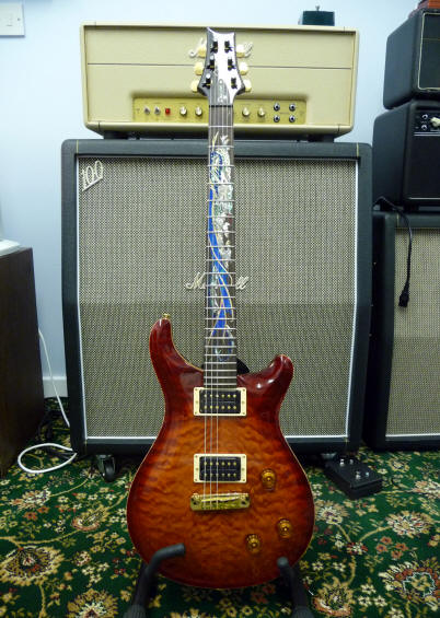PRS Paul Reed Smith Dragon III Unplayed Full Close Up Review ...