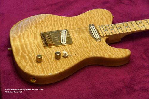 Fender Custom Telecaster Build Warmoth Body & review