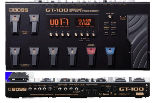 Boss Gt-100 Инструкция На Русском - фото 2