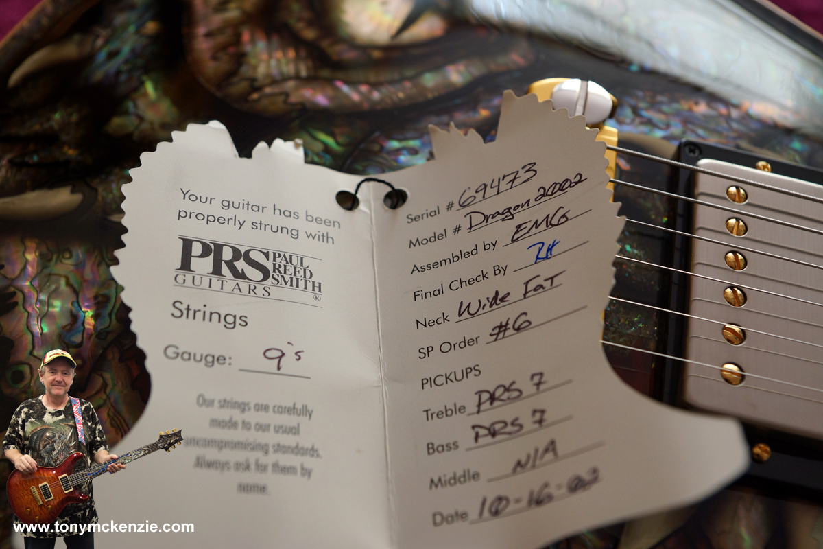 Prs Paul Reed Smith Dragon 2002 In Depth Review With Playing Hfs Pickup Wiring Diagram Tag